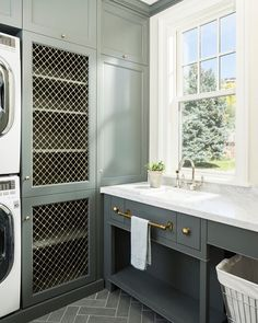 Laundry Room design photos, ideas and inspiration. Amazing gallery of interior design and decorating ideas of laundry rooms by elite interior designers - Page 19 Room Organization, Cabinetry, Decor, House Design, Interior, Farmhouse Laundry Room, Mudroom Laundry Room, Home Decor, Room Decor