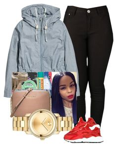 08:11:15 school by diggysimmion on Polyvore featuring polyvore, beleza, H&M, NIKE and Movado