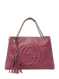 00d3b41eeac Ozsale - Soho Medium Leather Shoulder Bag Gucci Accessories, Gucci Outfits,  Soho, Leather