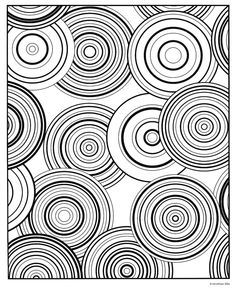Modern Art Colouring Pages