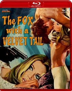 THE FOX WITH A VELVET TAIL LIMITED EDITION BLU-RAY (MONDO MACABRO)