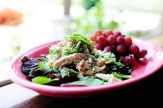 Lemon Basil Chicken Salad: thepioneerwoman.com