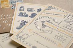 Spoon & Sailor Custom Wedding Invites