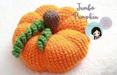 Jumbo Pumpkin - free crochet pattern by DORIYUMI