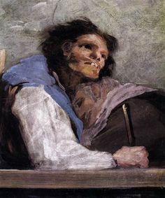 Francisco Goya The Miracle of St Anthony detail , San Antonio de la Florida, Madrid. Read more about the symbolism and interpretation of The Miracle of St Anthony detail 4 by Francisco Goya. Francisco Goya, Spanish Painters, Spanish Artists, Portraits, Portrait Art, Goya Paintings, Museum Studies, Historical Art, Famous Artists