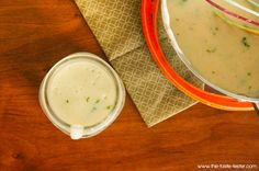 Homemade Cream of Chicken Soup www.the-taste-tester.com #recipe double the spices