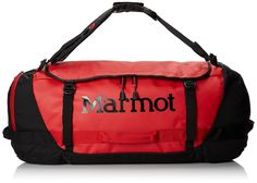 Marmot Unisex Long Hauler Duffle Bag - Small Team Red/Black Duffel Bag *** Check out the image by visiting the link.