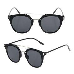 Tendance   Tendance lunettes   2016 Nouvelle Mode lunettes de Soleil Femmes  Marque Designer Cat Eye 7208c451f87e