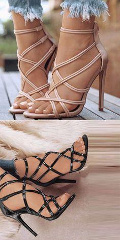 4b76ea8542163 Heel Covering Stiletto Heel Women s Sandals Sandals