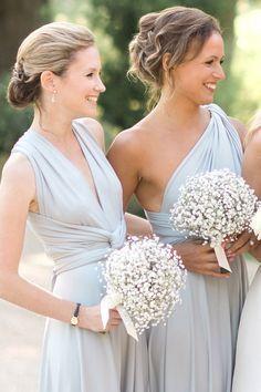 Destination wedding bridesmaids dresses