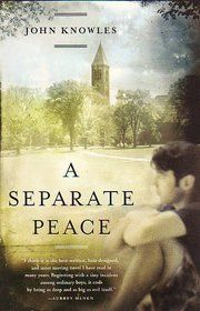 A Seperate Peace-John Knowles. Just read this book for English. So good and I recommend it to all.