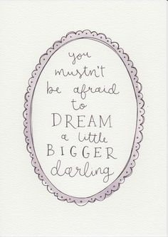 Dream A Little Bigger Quote, Gift For Kids and Babies, Baby Girl Nursery Wall Art, Girls Room Decor, Watercolor Painting, Lilac Girls Room by violetandalfie on Etsy