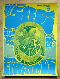 Psychedelic Fillmore poster