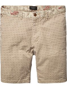 Paisley Print Shorts |Short pants|Men Clothing at Scotch & Soda