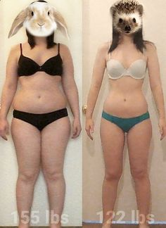 I wanted to slim down not just to look good, but also to feel good, and I did it.