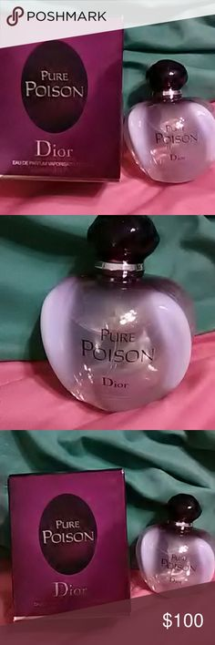 Pure Poison by Dior Brand new in box/one of my favorite scents of all time.  Don't want to sell but not working right now. Staying home to get my son through a new  medicine phase for his seizures.  Would do anything for him. Dior Other