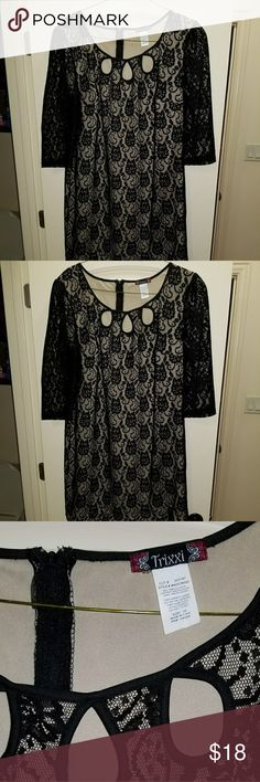 Little black dress size 20 This is a really flattering LBD! Worn once so it's in excellent condition! Trixxi Dresses Mini