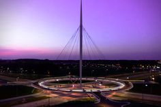 The Hovenring- Worlds First Suspended Bicycle Roundabout 6