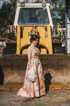 Bride + dressmaker: Allie Photographer: Meg Runion Studios Wedding season is upon us, and this year (at the time writing) is a particul. Homemade Wedding Dresses, London Plane Tree, Tilly And The Buttons, Traditional Wedding Dresses, Nontraditional Wedding, White Gowns, Old London, Wedding Wear, Wedding Season