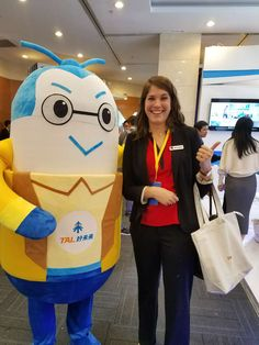 One of our representatives posing with the GET Summit mascot Educational Technology, Poses, Figure Poses, Instructional Technology