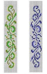 Free Loom Beading Patterns For Bracelets ~ Best Bracelets Beading Patterns Free, Seed Bead Patterns, Peyote Patterns, Weaving Patterns, Cross Stitch Patterns, Free Pattern, Cross Stitches, Scroll Pattern, Bead Loom Bracelets