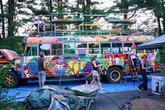 School Bus Camper, School Bus House, Converted School Bus, School Bus Conversion, Hippie Culture, Mini Bus, Hippie Vibes, Van Life, Monster Trucks