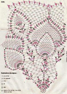 Kira scheme crochet: Scheme crochet no. 38