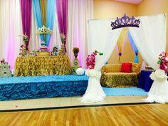 Princess Jasmine (Aladdin) Baby Shower Party Ideas | Photo 10 of 25 | Catch My Party
