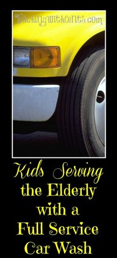 Group service project idea for tweens and teens. Serving the elderly in the community with a full service car wash. Service Auto, Car Repair Service, Service Projects, Service Ideas, Diesel Cars, Timing Belt, Motorcycle Design, Project Based Learning, S Car