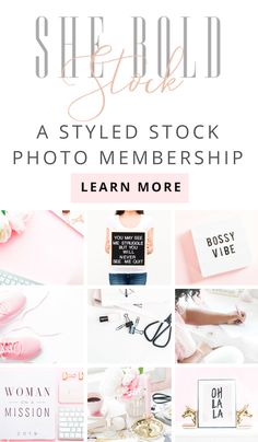 Gorgeous Styled Stock Images for your creative business!