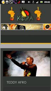 Teddy Afro: Teddy Afro 20016 Legendary Kora Award