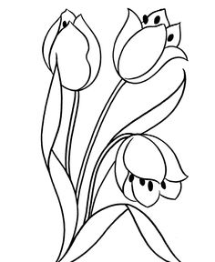 Already Withered Flower Coloring Pages