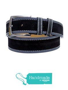 "Black Adjustable Leather Belt 106 cm (41.73"") BLT911 from Nazo Design… #handmadeatamazon #nazodesign"