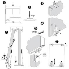 1000 ideas about rail pour porte coulissante on pinterest - Porte coulissante dimension ...