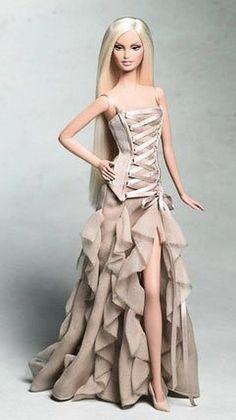 Barbie Und Ken, Barbie Mode, Barbie Vintage, Vintage Dolls, Vintage Sewing, Barbie Dress, Barbie Clothes, Barbie Barbie, Barbie Gowns