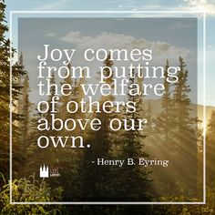 Serving others brings great joy!!