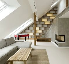 loft staircase design detailing