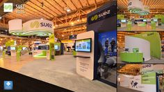 Suez rolls out a brand new interactive exhibit at WEFTEC 2016, the premier water quality conference. All design, fabrication, implementation, and interactive multimedia by Dimensional Communications.