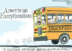 This Pat Bagley editorial cartoon appears in The Salt Lake Tribune on Tuesday, Dec. American Exceptionalism, Political Cartoons, Satire, Current Events, Politics, Author, This Or That Questions, Education, History