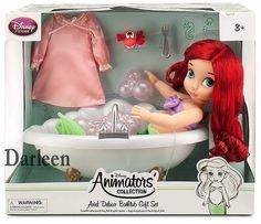 "Disney ""Animators Collection"" Ariel Deluxe Bathtub Gift Set - HD Picture"