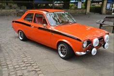 Escort Mexico I owned one of these from 1977 - 1985 if only I knew then what I know now it would still be on my drive 😎 Escort Mk1, Ford Escort, Ford Rs, Car Ford, Gp F1, Automobile, Good Looking Cars, Cars Uk, Race Cars