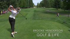 Brooke Henderson's Beautiful Golf Swing/Driver, Wood, Iron, wedge/Bunker...