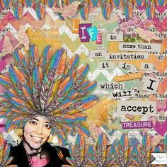 LIFE: An inspirational page, the girl is my niece.  I made this page with Be Ye Glad by Altered Amanda's Studio, available at Go Digital Scrapbooking here: http://www.godigitalscrapbooking.com/shop/index.php?main_page=index&manufacturers_id=148