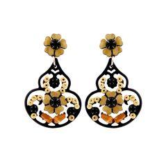 Praline drop earrings by Tarina Tarantino