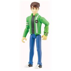 Brand new in box. Figure comes with all shown accessories. Figure height approximately Condition note: Box has wear and is meant to be opened. Ben 10 Alien Force, Alien Action Figures, Ben 10 Ultimate Alien, Ben Tennyson, Mario, Brand New, Pvc, How To Wear, Watch