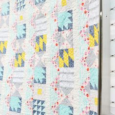 "UPDATE: See this post for U.S. stores carrying Quicker by the Dozen. We have a brand new project that we are so excited to announce! Cotton Steel is honored to be collaborating with Lynette Jensen, one of RJR Fabrics' most prolific and successful designers, to release a Block of the Month pattern called ""Quicker By The […]"