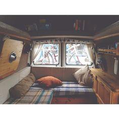 Living room   Bedroom   Kitchen #therollinghome #vanlife