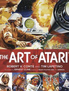 """Les enfants des années 80 se souviennent des illustrations qui habillaient les boîtes des cartouches Atari. Depuis sa création en 1972, la société a lancé des centaines de titres emblématiques dont Space Invaders, Asteroids, Centipede ou encorele très bon Defender.""""The Art of Atari"""" (350 pages), le nouveau livre des éditions Dynamite Entertainment, se penche sur…"""