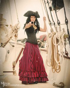 Female Pirate Images Shoots | Photos courtesy of Mergin Photography.