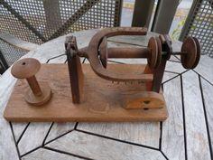 Spinnrad-Aufspuler-Holz